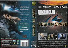 LOST IN SPACE (1998) vhs ex noleggio