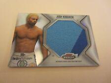Josh Koscheck 2012 Finest UFC Jumbo Fight Mat Relics #FFJMJK Card UFC 143 MMA