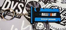 Keyring Keychain Ralliart Engine MITSUBISHI EVO Lancer 1 2 3 4 5 6 7 8 Blue