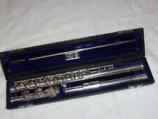 Haynes Handmade Flute, C Foot, Soldered Toneholes, 1978, Recent Pads Complete!