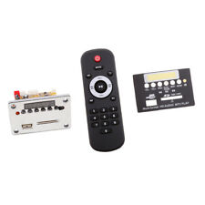 Car DC12V Wireless Bluetooth MP3 WMA Decoder Board Audio Module USB TF Kits