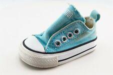 Converse All Star Toddler Sz 2 Medium Blue Low top Fabric Girls