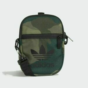 Adidas Camo Crossbody Festival Bag FM1350 Night Green