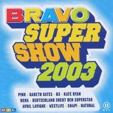 Bravo Super Show 2003 Jeanette, Gareth Gates, B3, DSDS, Sylver, Sugabab.. [2 CD]