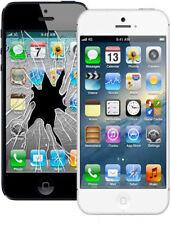 Apple iPhone 5-5S Cracked or Broken Glass Repair Service Same Day Turn Around