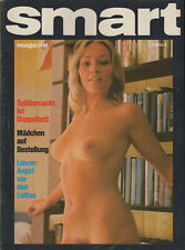 SMART Magazin März 1976 Gondel-Verlag / sexy beautiful women naked nude nackt