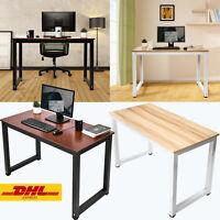 Schreibtisch Computertisch Bürotisch PC 110 x 60cm Arbeitszimmer Esstisch Tisch