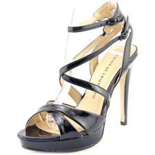 Sandalias y chanclas de mujer de color principal negro sintético Talla 39.5