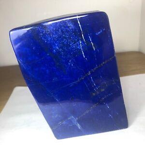 Royal Blue Top Grade Lapiz Lazuli Polished Free form Mineral specimen LP1004