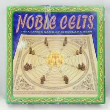 Noble Celts Classic Game Circular Chess Round Celtic Design Board Free Shipping