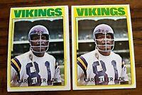 1972 Topps #20 Carl Eller - Vikings (2)