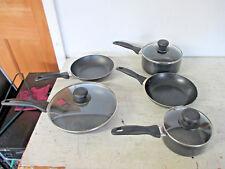 New listing Tefal 8 Piece Pot and Pan Set