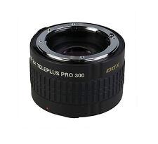Kenko Teleplus DGX Pro 300 2.0X AF Teleconverter Lens for Canon EOS