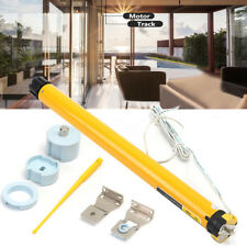 12V DC 25mm 30RPM DIY Electric Roller Blind Shade Tubular Motor + Holder Kit
