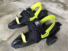 Perfect Cardiff Cruiser Shoe Skates, Black & Lime, Youth