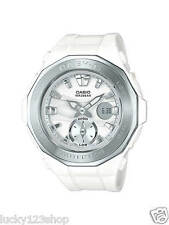 BGA-220-7A White Casio Baby-g Lady Watches Resin G-Lide Women Band New