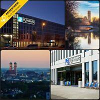 3 Tage 2P H2 Hotel München Kurzurlaub Hotelgutschein Urlaub Bayern Zentrum