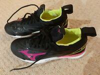Mizuno Ladies Wave Mirage 2.1 Indoor Court Black Pink Trainers - Size 7.5