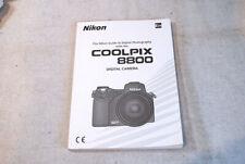 Original Nikon Coolpix 8800 Operating Manual * Very Good Condition