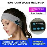 Outdoor Sports Music Hairband Headset Wireless Bluetooth Handsfree Headphon N7I2