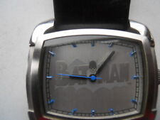 Fossil BATMAN blk leather,quartz,battery & water resistant Analog watch.Li-2500