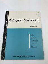 Frances Clark Contemporary Piano Literature Book 1 Revised Edition