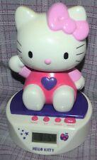 More details for hello kitty musical digital screen alarm clock money box license sanrio gc rare