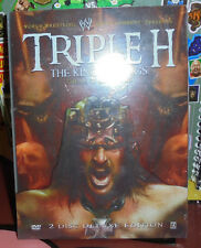 Triple H King of Kings DVD Wrestling HHH DX NXT The Authority WCW Degeneration X