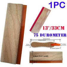 13 Inch Screen Printing Squeegee Blade Wood Handle Ink Scraper Scratch Board