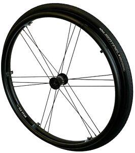 "1 paar Standard Rollstuhlräder Six Star 24""  12,7 mm Radlager"