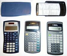 LOT OF THREE (3): Texas Instruments Scientific Calculators TI-30XA & TI30XIIS