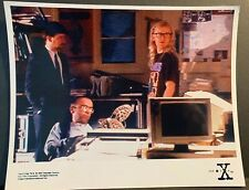 X-Files Creation Colour 10x8 Photo - The Lone Gunmen BYERS, FROHIKE & LANGLY - B