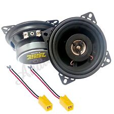 KIT A6 CL ALTOPARLANTI FIAT 600 ANTERIORE CASSE 2 VIE 100mm 100 WATT