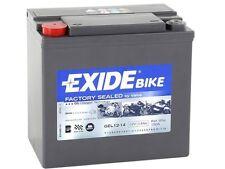 Batería BMW EXIDE GEL12-14, Batería Sellada, Activada y lista para montar