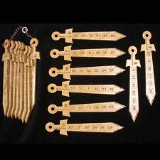 Swords of Truth math magic wood puzzle - unique design astounding trick