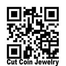 Custom Cut Coin Art Jewelry Cutting by Mr. Cut Coin