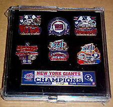 New York Giants Super Bowl 42 XLII  Champs LE Pin Set