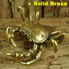 Solid Brass Crab Figurine Statue Animal Figurines Decoration Ornament