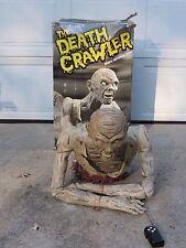 Death Crawler Spencer's Spirit Rare Halloween Prop 2004 Retired Moans Screams