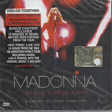 CD DVD MADONNA I'M GOING TO TELL YOU A SECRET NUOVO ORIGINALE SIGILLATO NEW SEAL