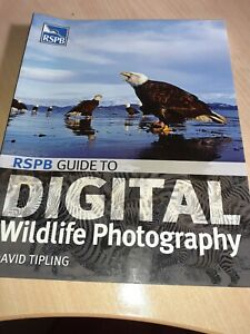 RSPB Guide to Digital Wildlife Photography by David Tipling Paperback