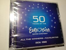 50 YEARS OF THE EUROVISION CONG CONTEST - ALL THE WINNERS 1956 - 1980 2CD SEALED