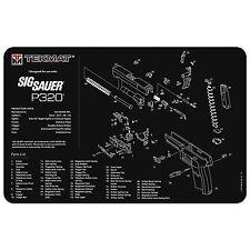 SIG SAUER P320 9mm 40 S&W PISTOL GUN CLEANING GUNSMITH BENCH OR MOUSE MAT TEKMAT