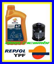 Kit Tagliando PIAGGIO BEVERLY 125 01>02 + Filtro Olio REPSOL 5W/40 2001 2002