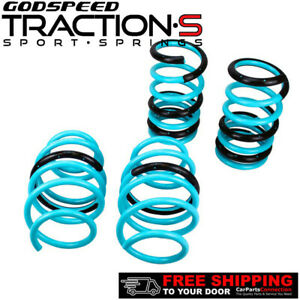 Godspeed Project Traction-S Lowering Springs For TOYOTA SIENNA FWD 11-2014 XL30