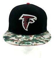 NFL Vintage Collection Atlanta Falcons New Era Snapback Hat Cap Designer Brim