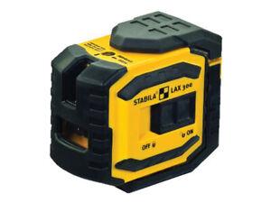Stabila LAX 300 Self-Levelling Cross Line Laser STBLAX300
