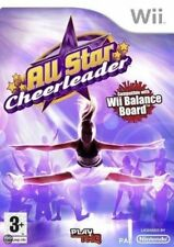 Nintendo Wii Game - All Star Cheerleader UK & Boxed