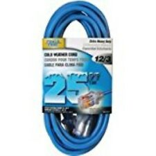 Cord Ext Cold Lt 12/3x25ft Blu