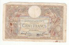 BILLET FRANCE  100  FRANCS   MERSON  2 / 2 / 1939  GV